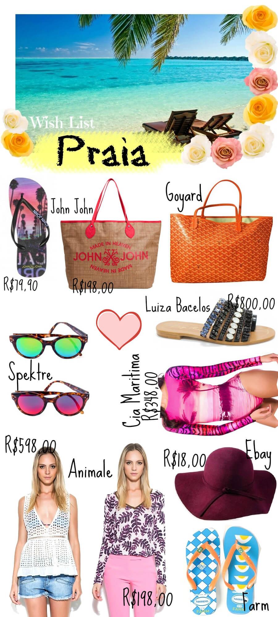 wish-list-verao-cia-maritima-body-bikine-goyard-johnnjohn-bolsa-luiza-barcelos-rasteirinha-moda-praia-tendencia-beach-2015-animale-roupas