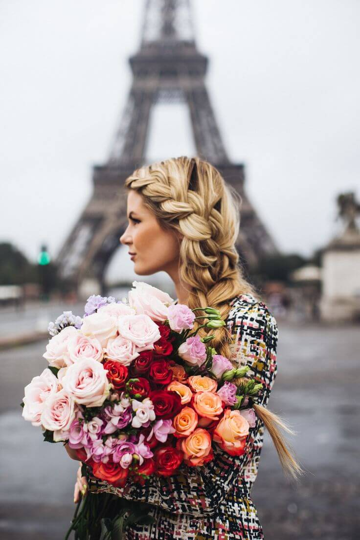 paris-street-style-moda-fashion-trend-amber-baby-sun-braid-hair-blondhair-cabelo-loiro-perfeito-comprido-trana-moderna-penteado-escama-de-peie-embutida-printrest-we-heart-it