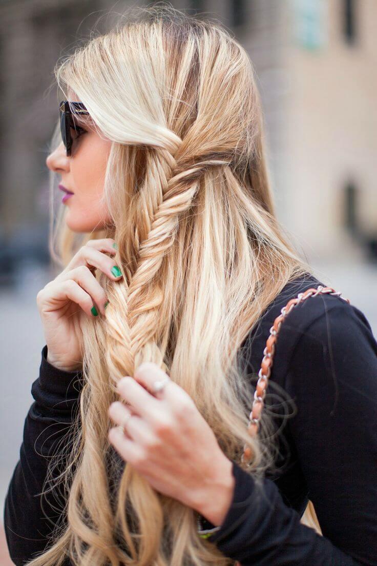 amber-baby-sun-braid-hair-blondhair-cabelo-loiro-perfeito-comprido-trana-moderna-penteado-escama-de-peie-embutida-printrest-we-heart-it