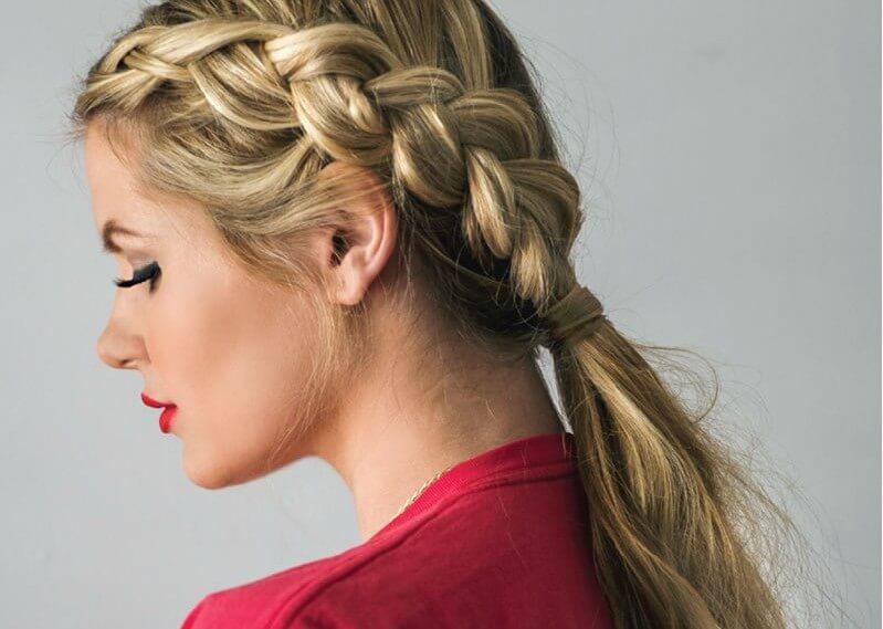 Женские причёски на скорую руку